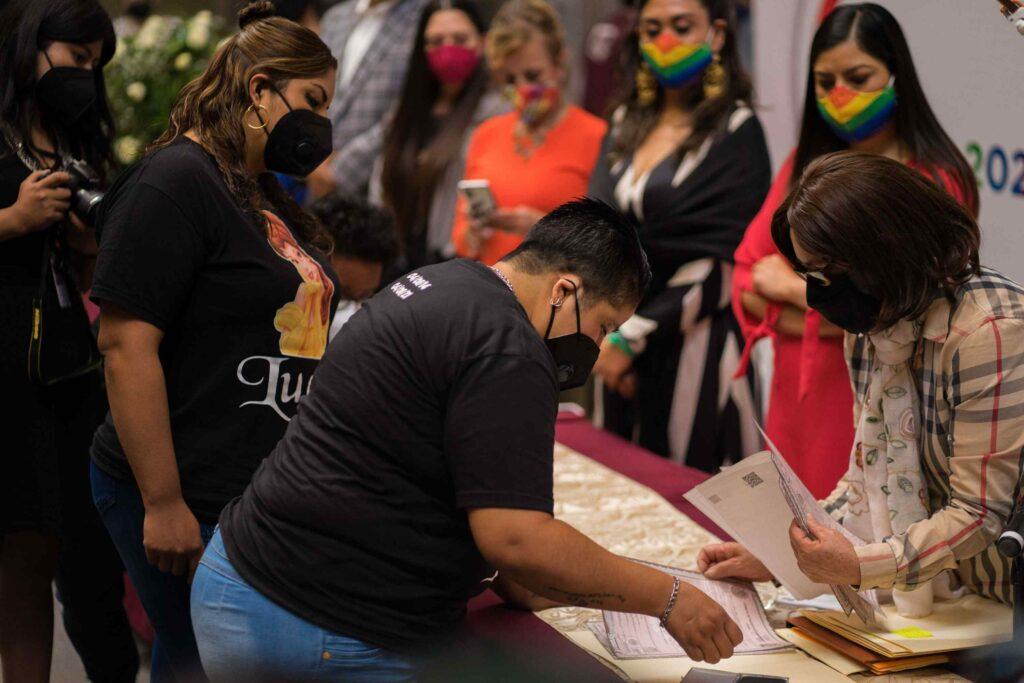 Boda coletiva lgbt en Puebla