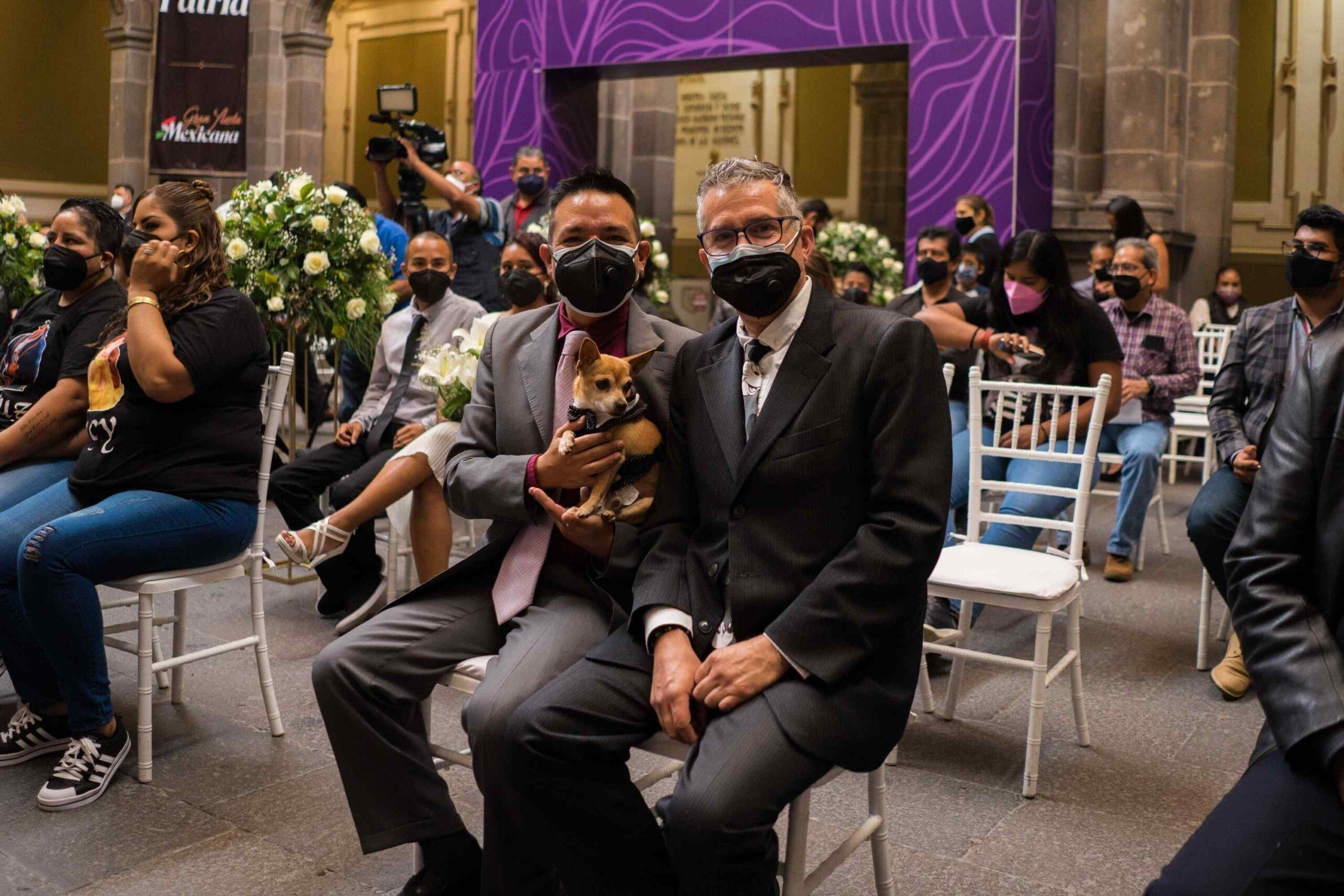 boda colectiva lgbt en Puebla
