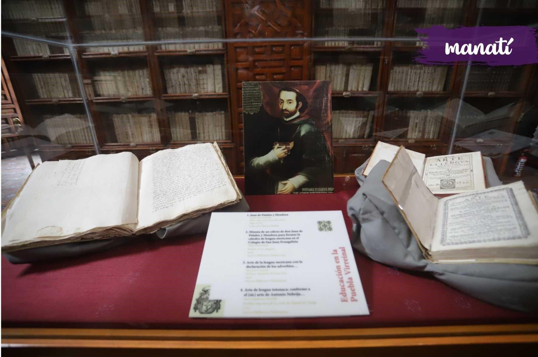 Acervo donado por Juan de Palafox y Mendoza a la Biblioteca Palafoxiana en Puebla