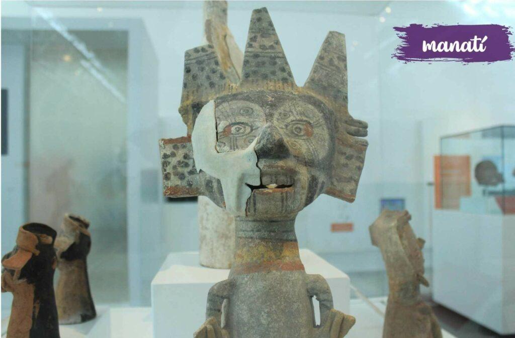Piezas arqueológicas en el Museo Regional de Tehuacán serán trasladadas por el INAH a la Ciudad de México. Fotografía: Agencia Es Imagen
