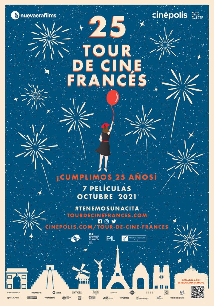 25 aniversario tour de cine francés puebla